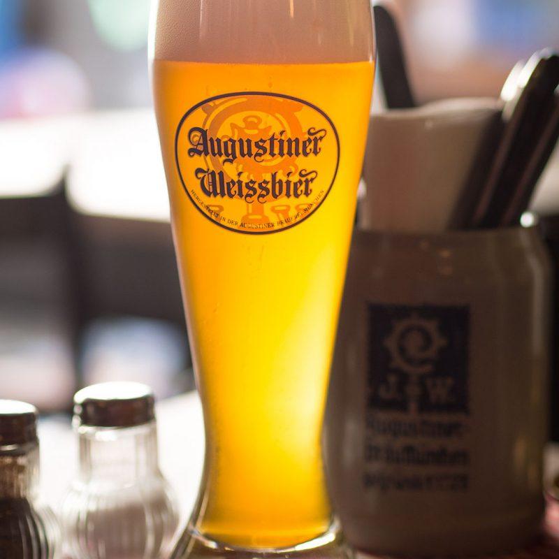 Das Post Freilassing | Augustiner Weißbier ist Teil unserer Bierspezialiäten